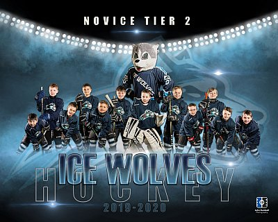 Sudbury hockey team photographer - Ice Wolves team