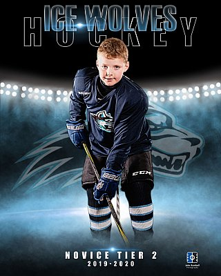 Sudbury hockey team photographer - Ice Wolves player